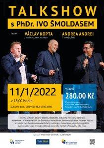 Talk show s Ivo Šmoldasem