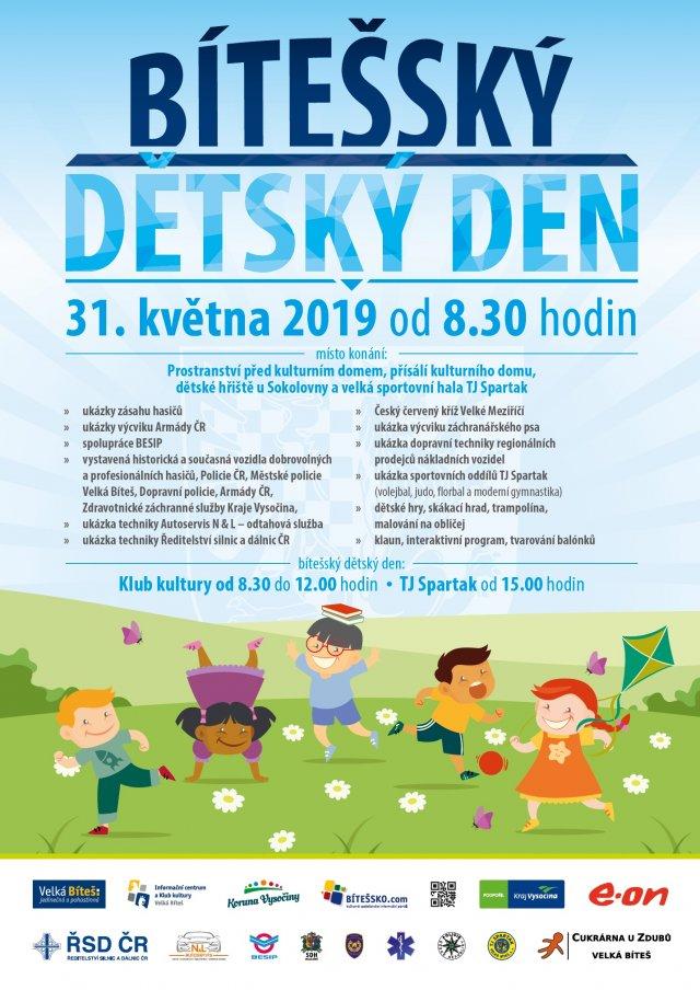 Bítešský dětský den 2019