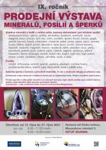Výstava minerálů podzim