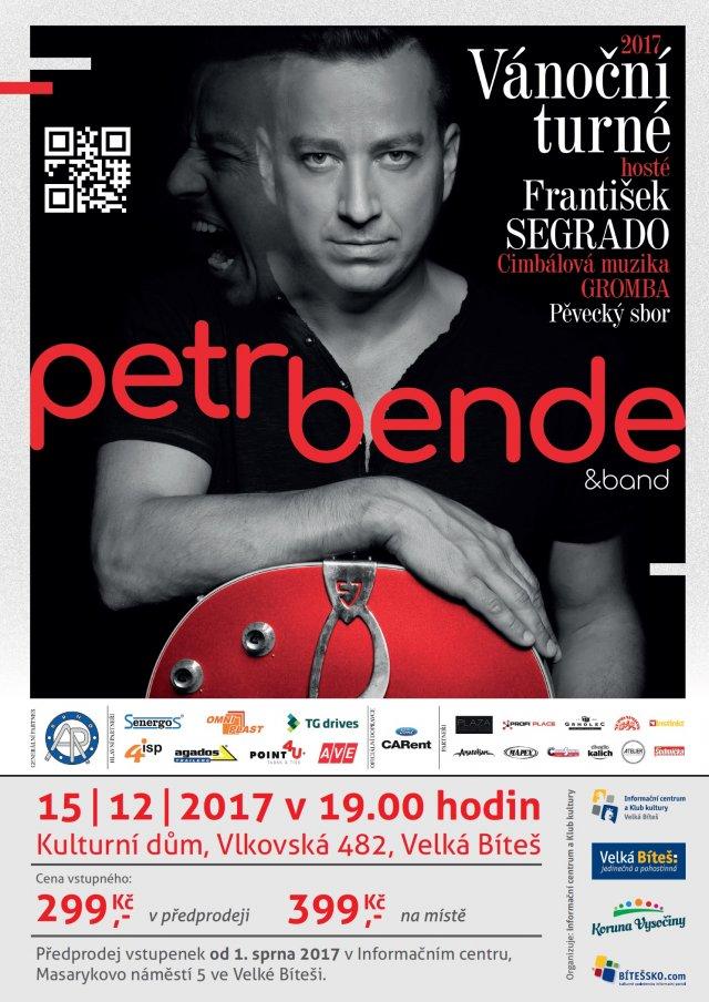 Vánoční turné Petr Bende 2017