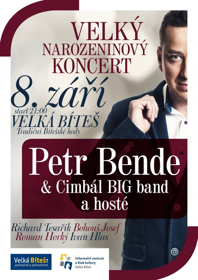 Velký narozeninový koncert Petra Bende