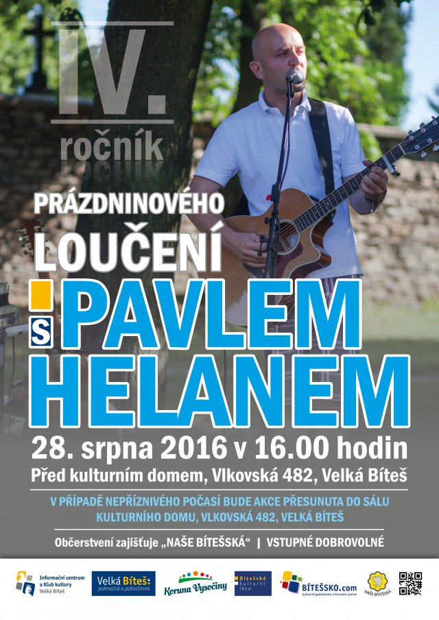 Prázdninové loučení s Pavlem Helanem
