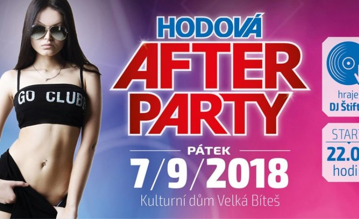 HODOVÁ AFTERPARTY