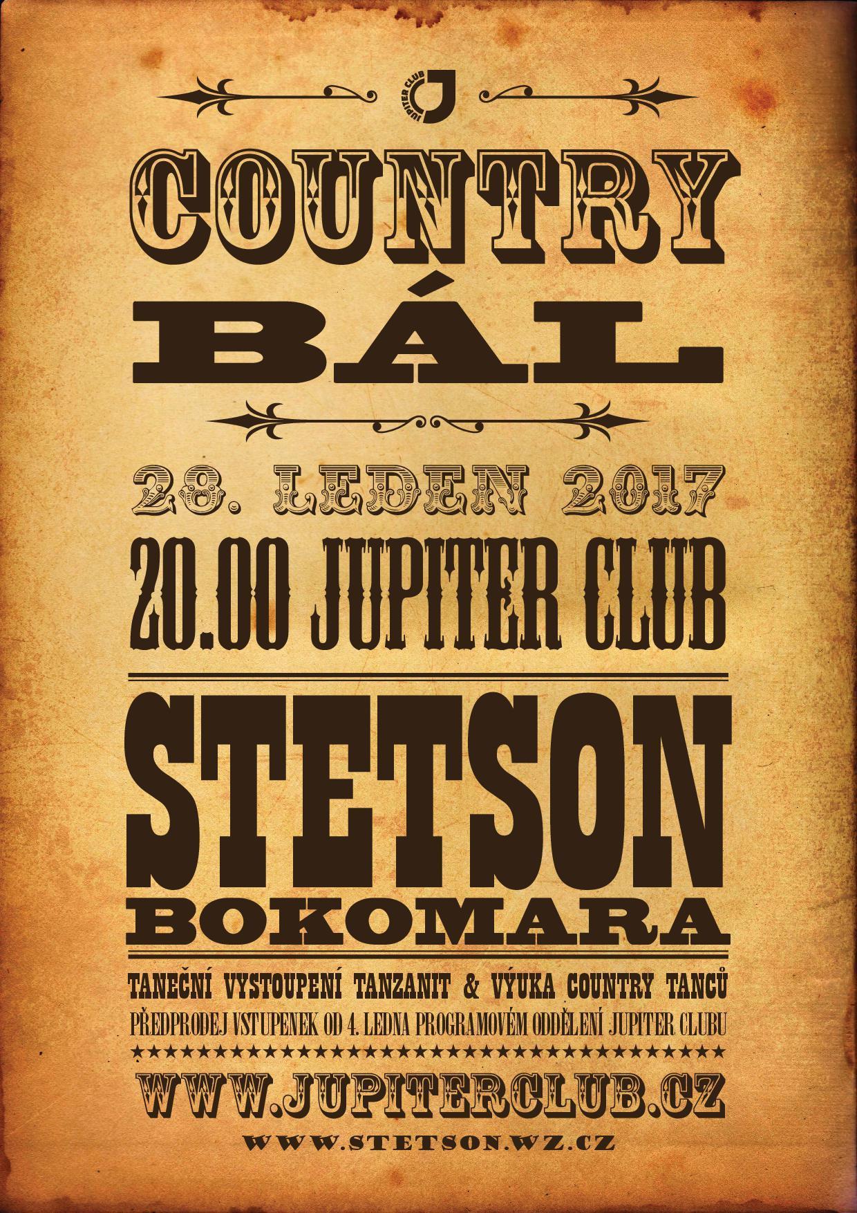 plakát country bál