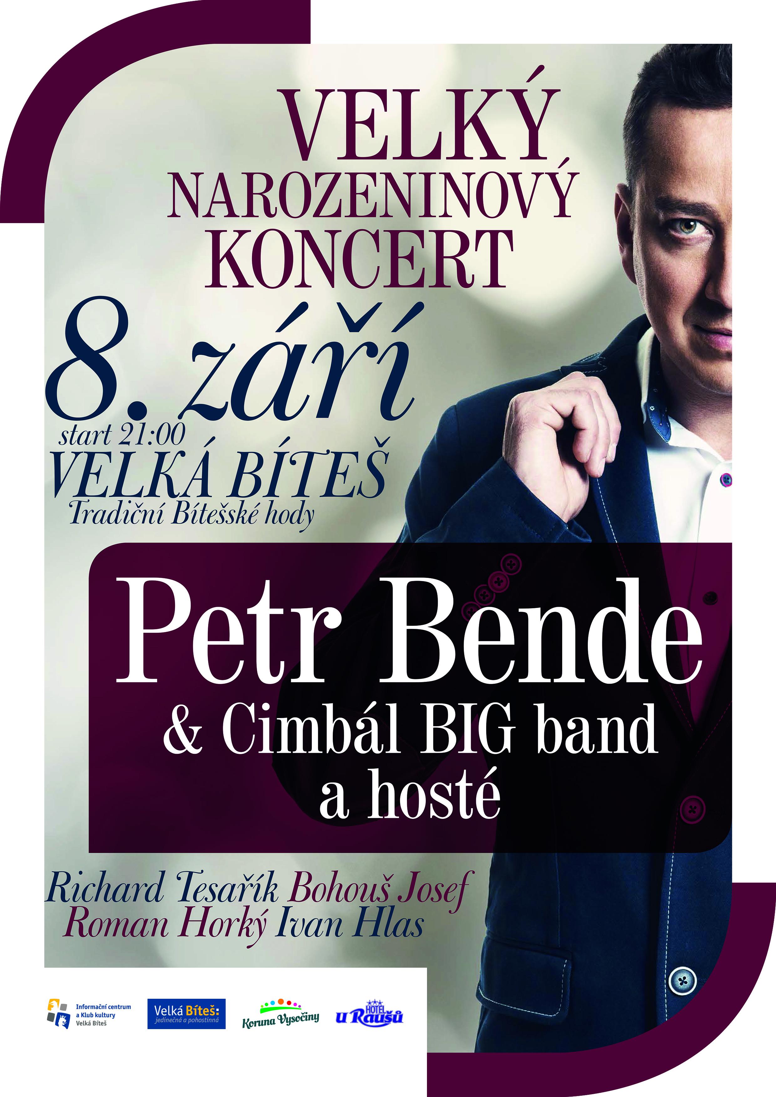 plakat Petr Bende