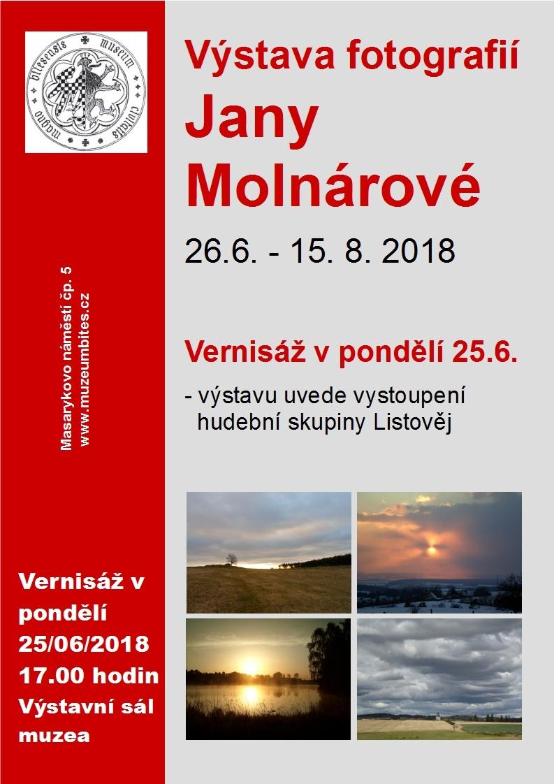 Plakat-výstava Molnárová