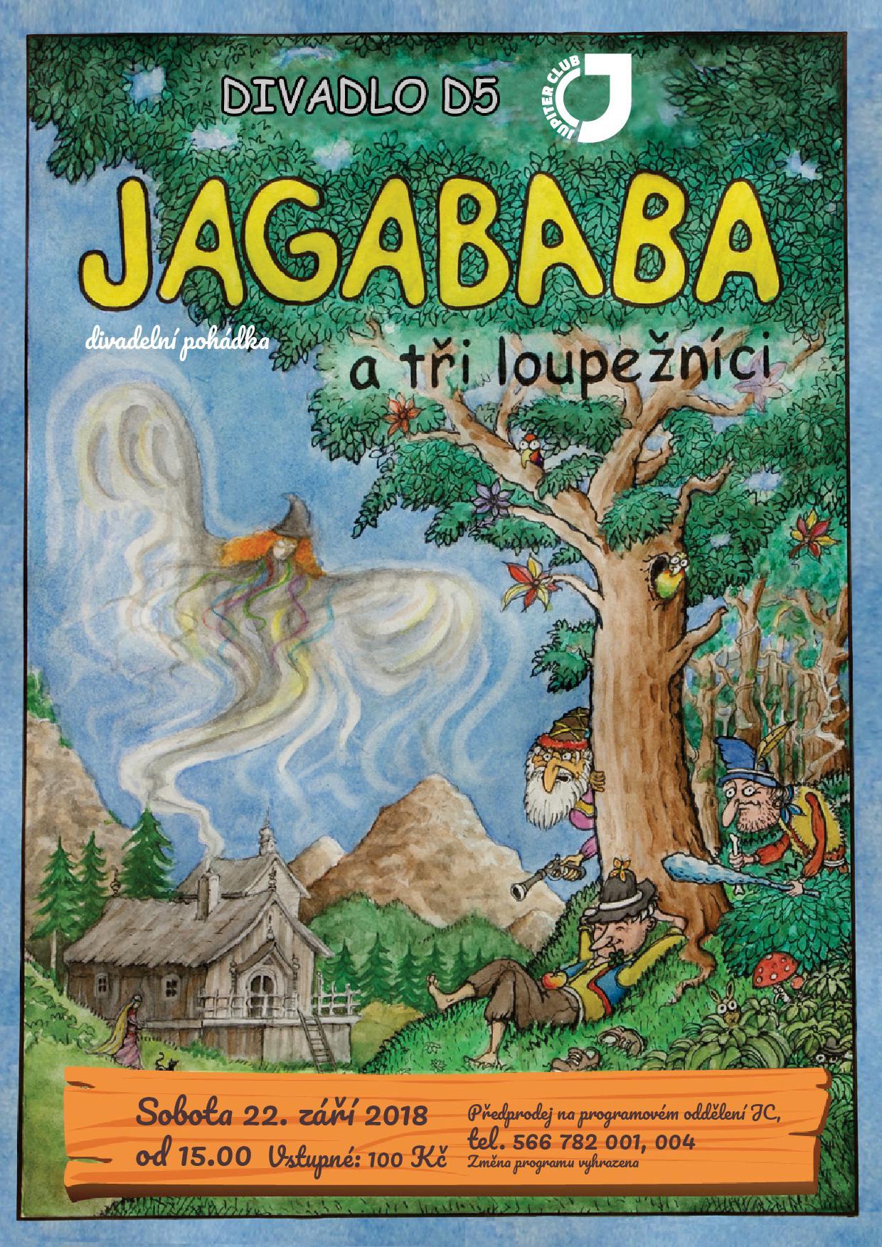 plakát jagababa