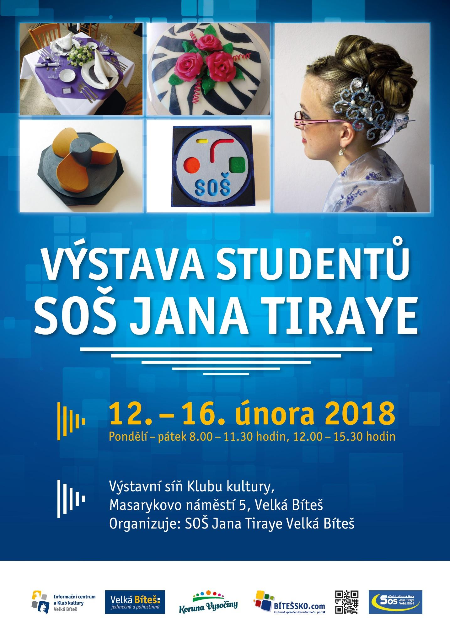 výstava studentů