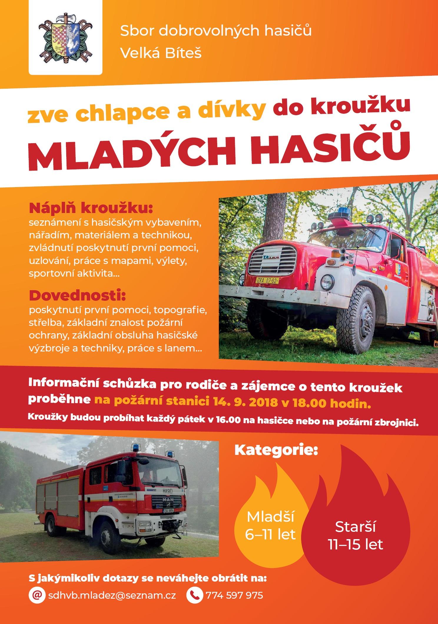 hasiči nábor