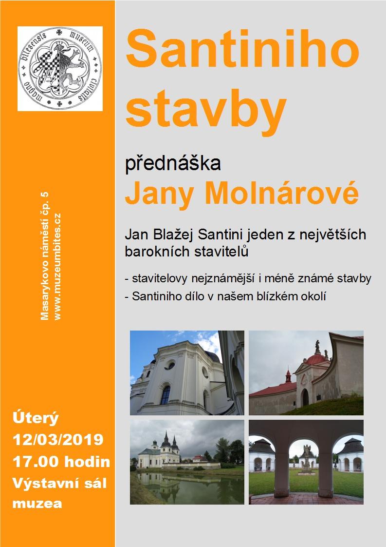 Plakat-přednáška Molnárová