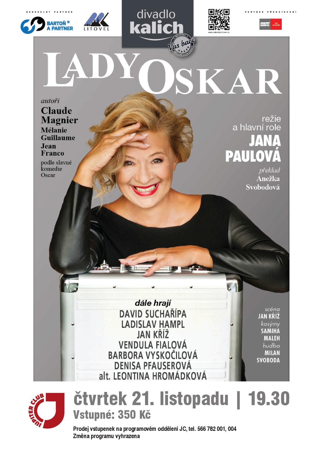 A3 poster lady oskar