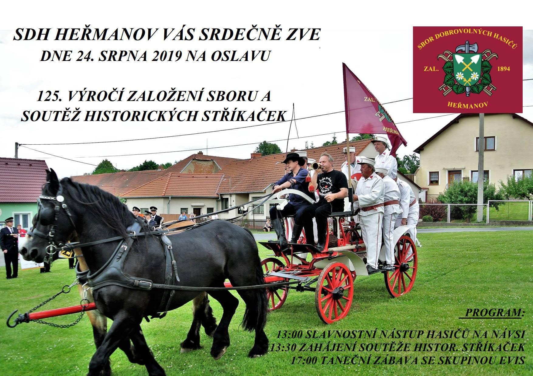 125 let SDH Heřmanov