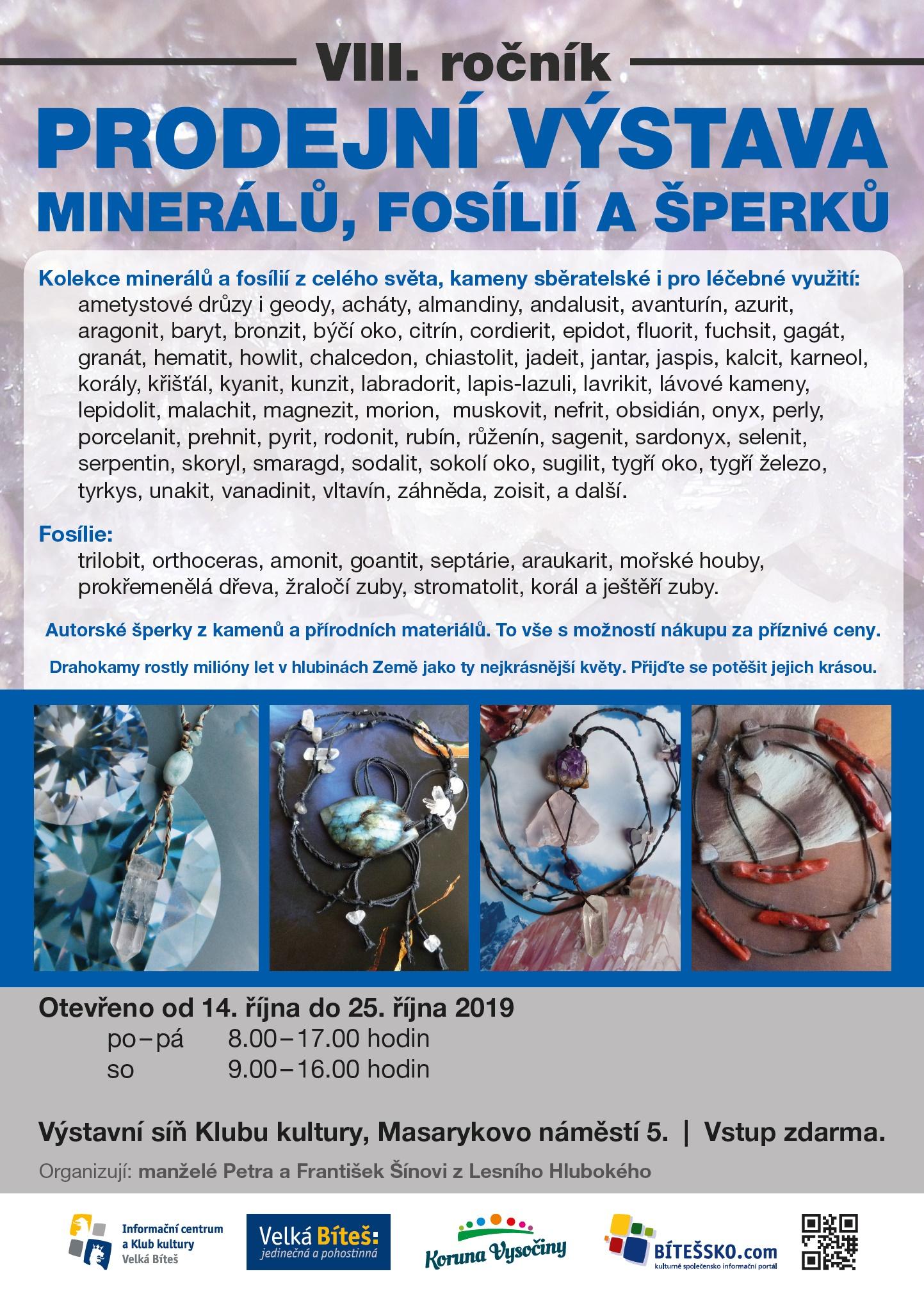 minerály 2019