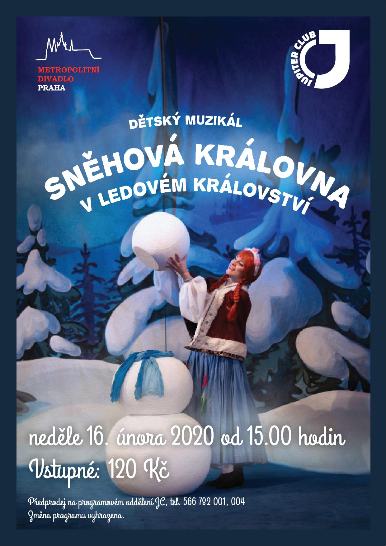 A3 poster snehova kralovna
