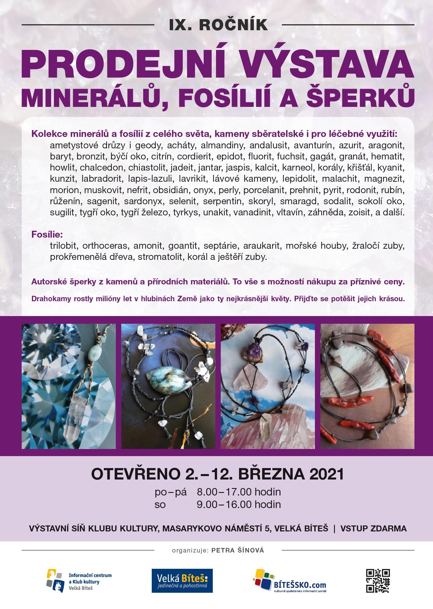 minerály jaro