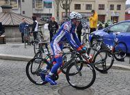 Cyklistický závod Velká Bíteš - Brno - Velká Bíteš 25.3.2018