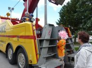 Děti slavily svůj den se záchranáři