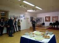 Vernisáž výstavy obrazů Aleny Procházkové 16.1.2018