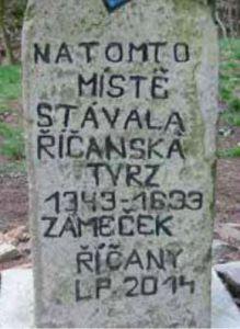 Hrady Říčky a Zbraslav